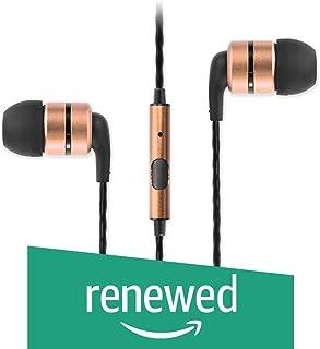 (Renewed) SoundMagic E80S-C Earphones (Gun Black/Gold)