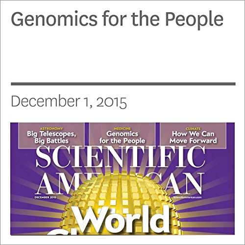 Genomics for the People audiobook cover art