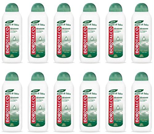 12 x Borotalco Duschgel Feuchtigkeitsspendend Duschschaum Badeschaum Angebot