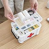 YHLVE Haushalt Tragbare Medizin Box