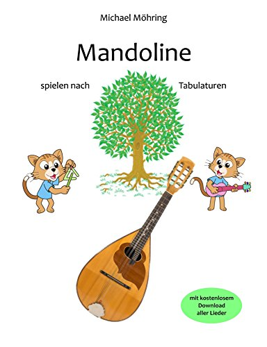 Mandoline: spielen nach Tabulaturen (German Edition)