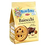MULINO BIANCO 10 Confezioni biscotti frollini baiocchi 260gr crema alla nocciola