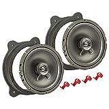 tomzz Audio 4004-002 Lautsprecher Einbau-Set MDF passend für BMW 3er E46 Compact 165mm Koaxial System TA16.5-Pro