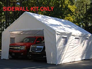 King Canopy 18 Ft x 20 Ft Sidewall Kit w/Flaps and Bug Screen Windows