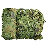 Wilxaw Rete Mimetica, Camouflage Tela Netto di Oxford, 3 X 2M Mimetico Copertura per Caccia Campeggio Montagna