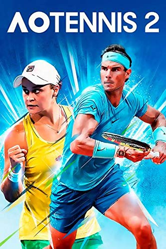 WOAIC AO Tennis 2 Game Poster Pósteres For Bar Cafe Home Decor Painting Wall Sticker Frameless 24X36 Inch(60X90CM)