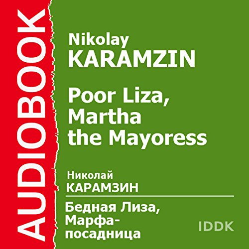 Poor Liza and Martha the Mayoress audiobook cover art