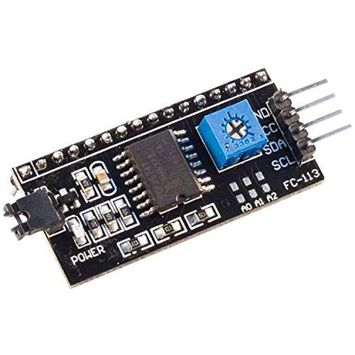 AZDelivery I2C IIC Adapter serielle Schnittstelle für LCD Display 1602 und 2004 mit gratis eBook!