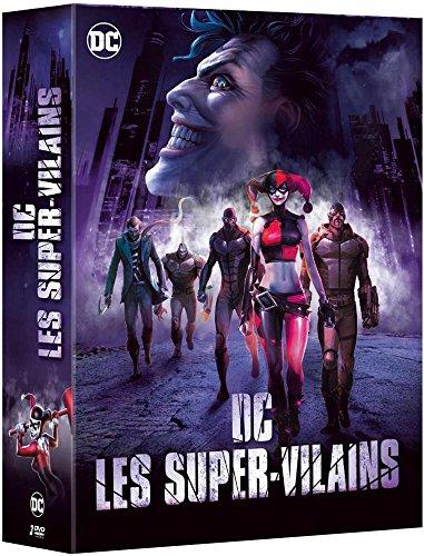 Coffret dc villains 3 films : the killing joke ; assaut sur arkham ; batman et harley quinn
