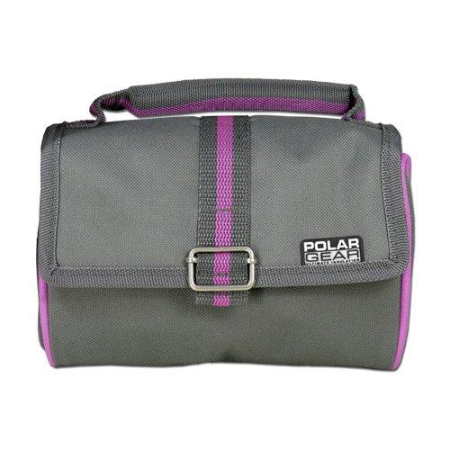 Polar Gear Retro borsa frigo - grigio/rosa