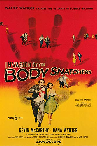 American Gift Services - Vintage Science Fiction Horror Movie Poster Invasion of The Body Snatchers - 11x17