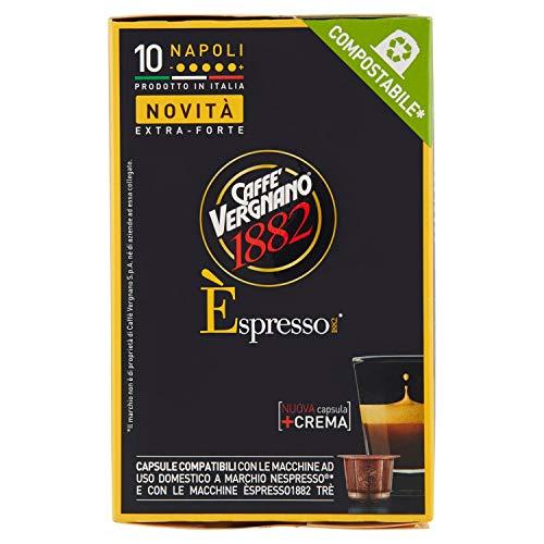 Casa Del Caffe Vergnano Nes Napoli 10c Compostabile, 50g