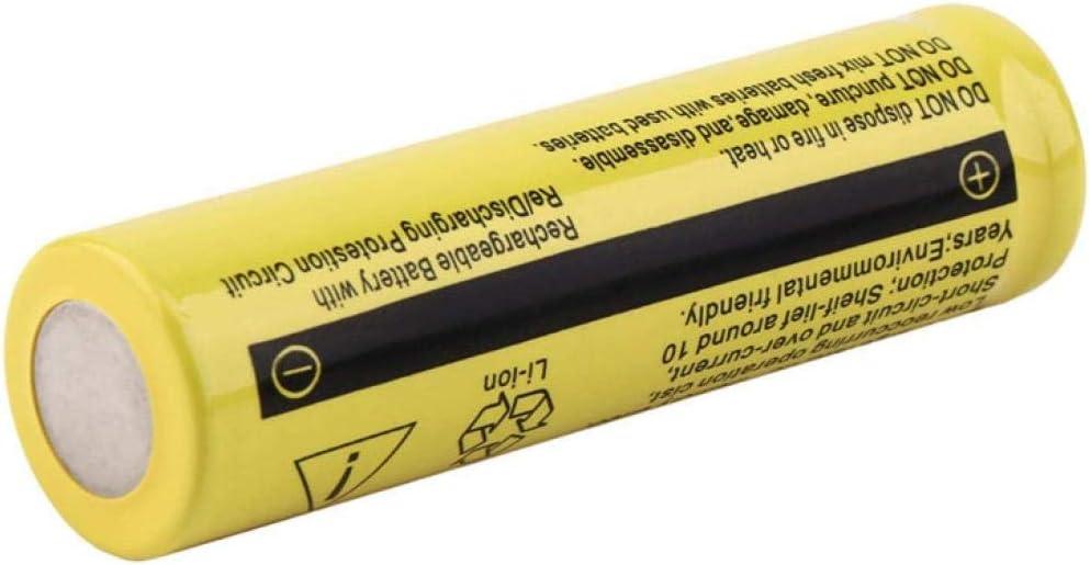 1pcs 3.7 V 18650 9900mAh Batteria al litio ricaricabile per torcia elettrica RC Toys HeadLamp Power Bank Radio Microfono-2 pz.