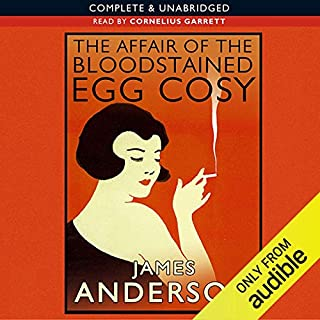 The Affair of the Bloodstained Egg Cosy cover art