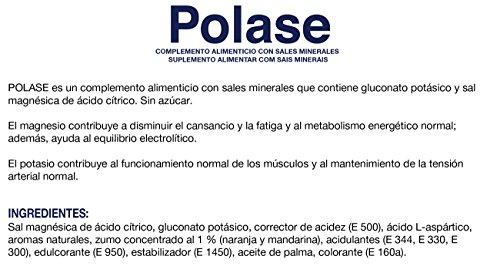 Polase Integratore alimentare contenente sali minerali 12 sobres granulados