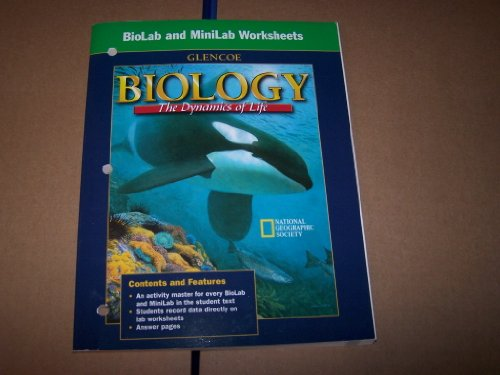 BioLab and MiniLab Worksheets for Biology: The Dynamics of Life