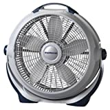 Lasko 3300 20″ Wind Machine Fan With 3 Energy-Efficient Speeds - Features Pivoting Head for...