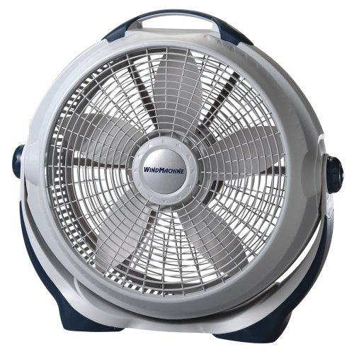 Lasko 3300 Wind Machine Air Circulator Portable High Velocity Floor Fans, for Indoor Home Cooling...
