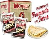 Preparato in Polvere per Crepes - Prodotti Moretto - 12 buste da 60 g (farina FRUMENTO)