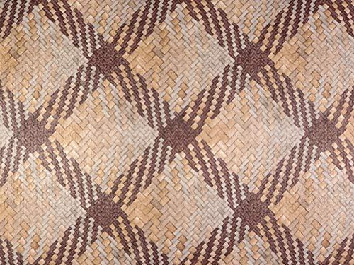 Hemmers - Piel sintética Trenzada, Color marrón y Beige