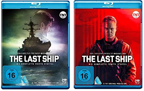 The Last Ship - komplette Staffel 4+5 im Set - Deutsche Originalware [4 Blu-rays]