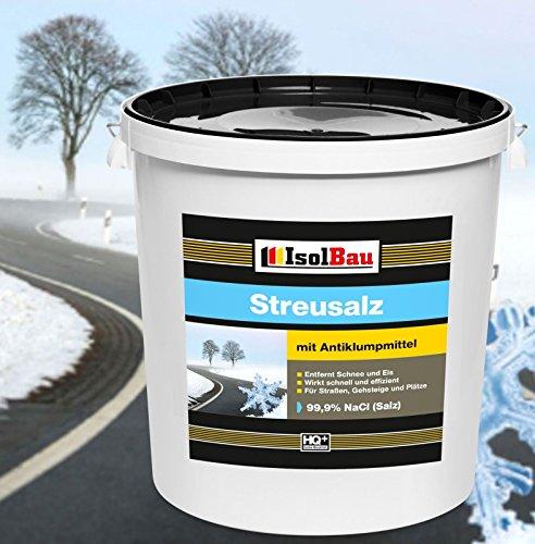 Streusalz 99,9% NaCl Salz Auftausalz Streumittel Tausalz Streugut Winterstreu 25 kg