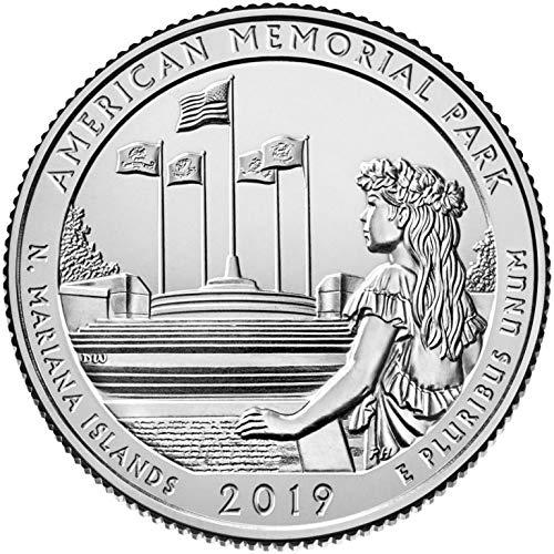 2019 D Bankroll of 40 – American Memorial Park, NMI Quarter Uncirculated