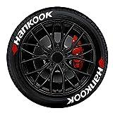 BIUDUI Speed Hunters - Adesivi universali per pneumatici auto, moto, 3D, adesivi personalizzati
