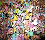 JKDC Tienda de Mascotas Juguete 3cm niños Juguetes para niños Regalo LPS Cat Pet Shop Mini Figuras Juguetes Animal Gato Perro pájaro Figuras de acción 10 Piezas