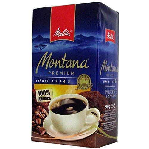 Melitta MONTANA Premium Filterkaffee 12x 500g