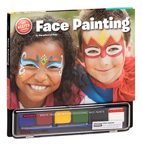 Face Painting [With Water-Based Paints] (Klutz)