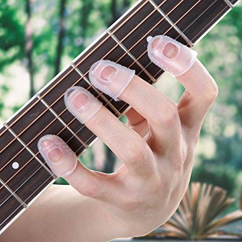 Protector para la yema del dedo de guitarra, duradero y práctico para el hogar