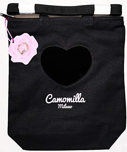Camomilla Borsa A Spalla - Shopper Milano - Nera