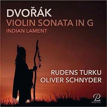 Dvorak: Sonata in G Major, Op. 100
