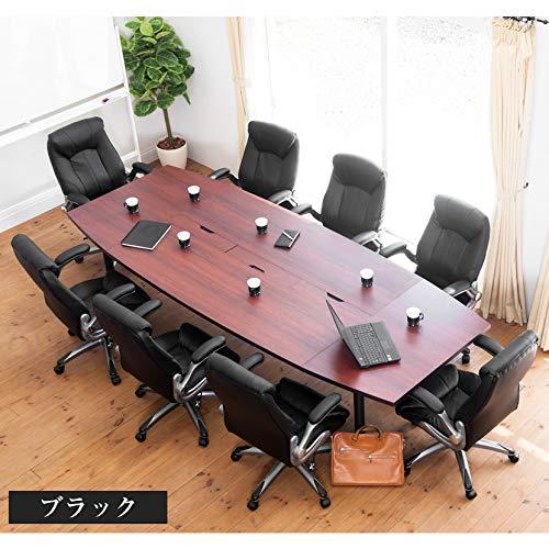 オフィスコム『社長椅子エグゼクティブチェア可動肘付きレザーレクアス』