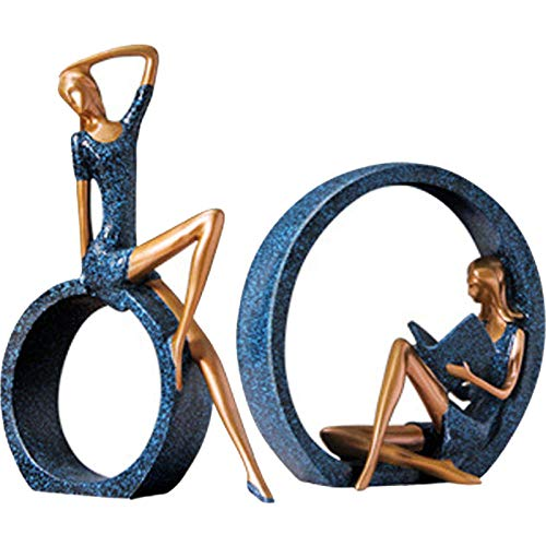 WOREX Estatuas Decoración Esculturas Tienda de Ropa Gabinete de Vino Decoración Arte Modelo Sala Tv Muebles