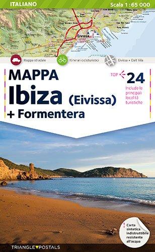 Mapa Ibiza + Formentera: Mappa (Mapes)