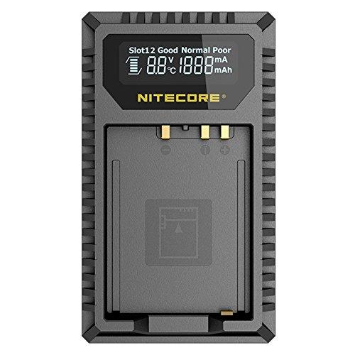 Nitecore FX1 Fujifilm W126/W126s - Caricatore USB con doppio slot 2 ore