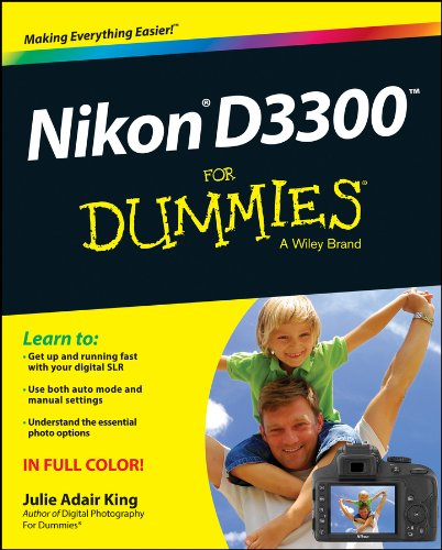King, J: Nikon D3300 For Dummies