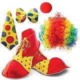 Clown Costume for Kids - Children Halloween Clown Costume Set
