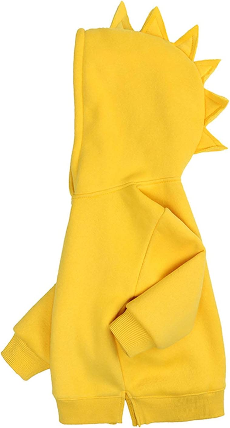 Kids Hoodies-Children'S Jacket Dinosaur Hooded Sweater Fleece Top Baby Boys Girls Hoody Older Children Pullover Outerwear