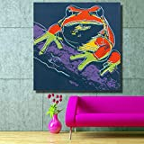 N / A Oil Painting Mural Painting Living Room Oil Painting Posters and Prints Wall Decoration Painting Frameless 30x30 cm