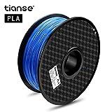 Material: PLA – Color: azul. Peso del artículo: 1 kg (aproximadamente 2,20 libras). Temperatura de impresión: 190 °C - 220 °C. Filamento de 1,75 mm (+/-0,03 mm). 2 años de garantía y servicio postventa 24*7 con consejo técnico