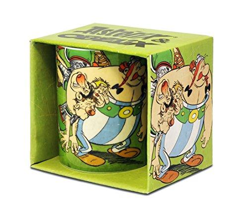 Logoshirt - Astérix et Obélix mug de café - with Romans - Astérix Le Gaulois mug à thé - Multicolore - présenté dans Un Coffret Cadeau - Design Original sous Licence