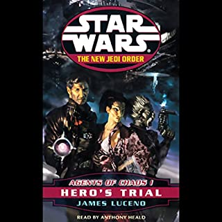 Star Wars: The New Jedi Order: Agents of Chaos I: Hero's Trial Titelbild