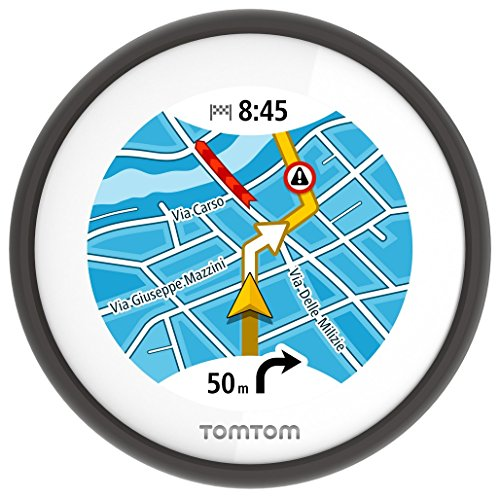 TomTom VIO (2,4 pouces) - GPS Scooter - Cartographie Europe...