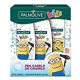 Shampoo e Condicionador para crianças Palmolive Kids Minions 350ml Promoção 2 Shampoos 350ml + 1 Condicionador 350ml com Desconto