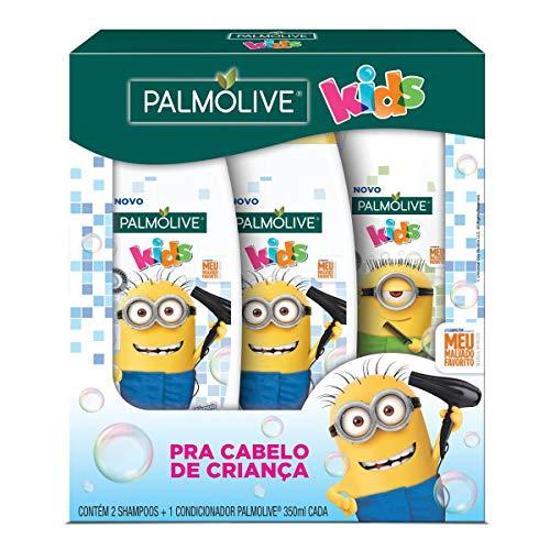 Kit 2 Shampoos e 1 Condicionador Palmolive Kids Minions 350ml, Palmolive, Palmolive