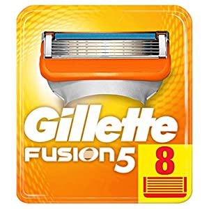 Gillette Fusion Razor Blades, 8 Refills New, Packaging May Vary from Procter & Gamble