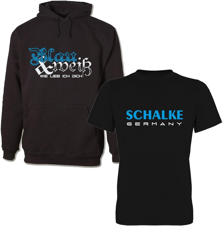 G-graphics Unisex Hoodie T-Shirt-Set Schalke Schalke Schalke - Germany & Blau & weiß wie lieb ich Dich 293.0122 B06XBKQ5XZ  Ein Gleichgewicht zwischen Zähigkeit und Härte 56897c